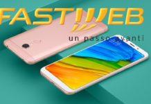 Xiaomi Redmi 5 Plus con Fastweb Mobile