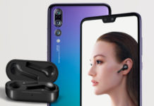 Huawei P20 Pro e auricolari wireless HUAWEI FreeBuds