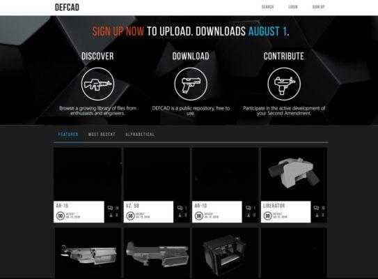 stampa 3D pistola