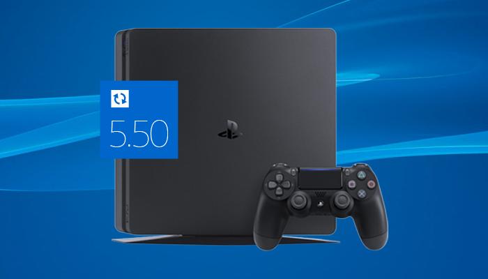 PS4 si aggiorna alla versione 5.56