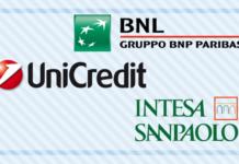 Unicredit, BNL e SanPaolo