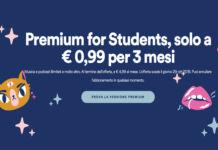 Spotify Premium, offerta per gli studenti maggiorenni