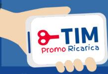 TIM: una nuova iniziativa per avere 5 euro in omaggio se si effettua una ricarica