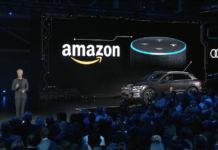 Audi E-tron, il suv riceve il pieno supporto dell'assistente vocale Amazon Alexa