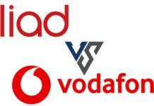 Vodafone contro Iliad Special Minuti 50 Giga al termine
