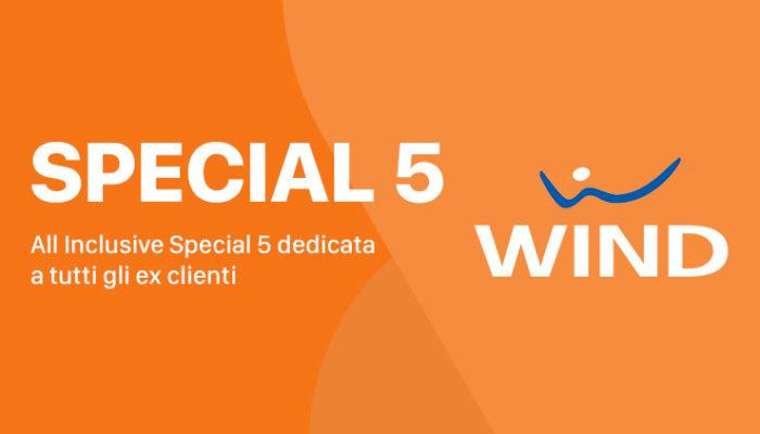 """Passa a Wind: Smart Special Five 30 GB a 5 euro al mese più opzione """"Porta un amico"""""""