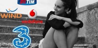 Tim, Wind, Tre, Vodafone e Iliad
