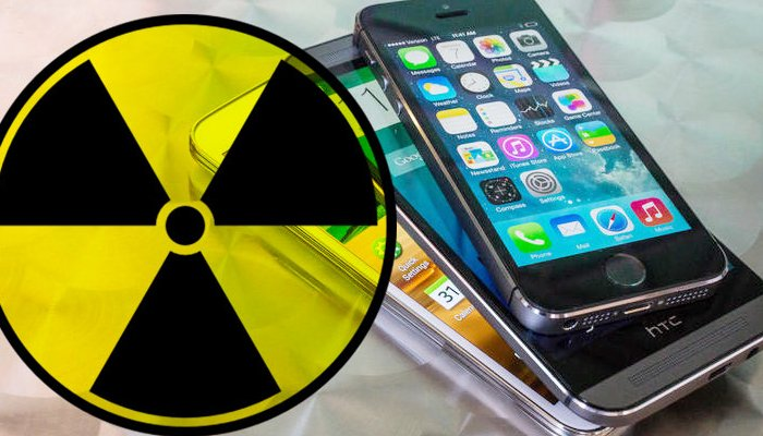 smartphone radioattivi
