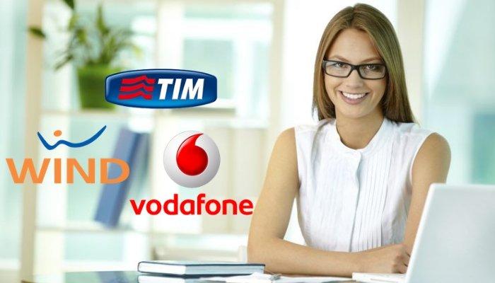 outlet store e8332 e2ac9 Clienti TIM, Vodafone, Wind Tre ed Iliad possono riconoscere ...