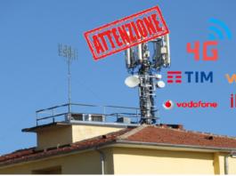 4G pericoloso Iliad Wind TIm Vodafone 3