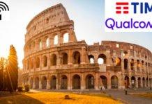 Roma 5G Qualcomm TIM prima videochiamata 5G