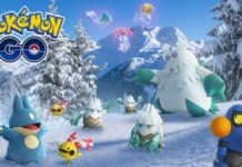 Pokémon GO, l'evento di Natale 2018