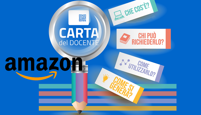 Amazon libri che si possono acquistare con il bonus docenti