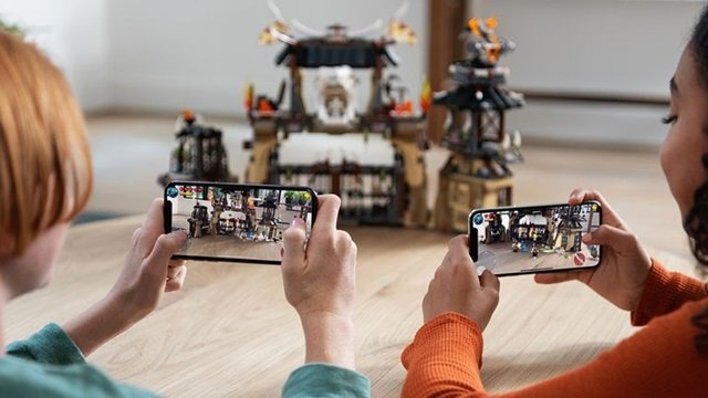 Risultati immagini per apple iPhone fotocamera 3d realtà aumentata