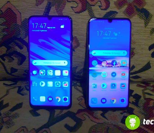 Confronto Honor 10 Lite vs Huawei P Smart 2019