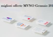 offerte MVNO operatori virtuali Gennaio 2019
