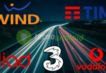 operatore telefonia velocità rete 4G