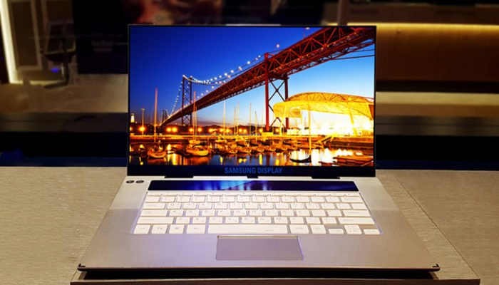 samsung laptop oled 4k
