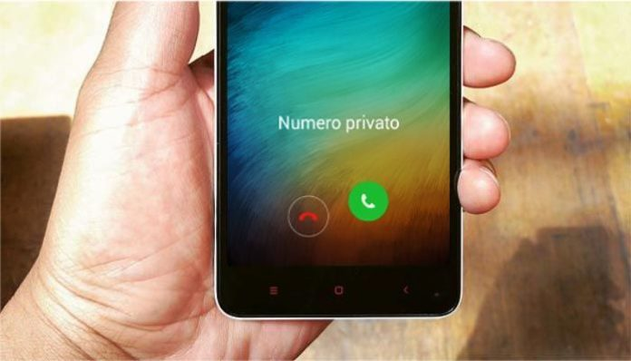 bloccare numero anonimo privato sconosciuto