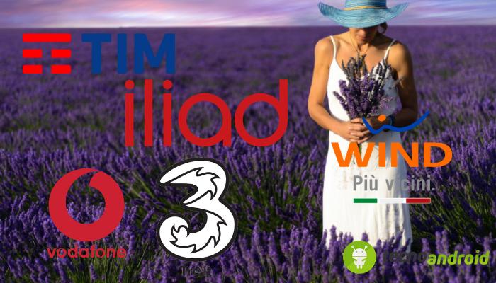 Wind, Tre, Iliad, Vodafone e TIM: uno studio rileva chi è ...