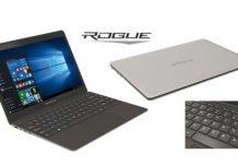 Rogue 13X, il laptop sottile ed elegante con display Full HD