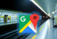 Google Maps update metro