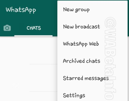 Whatsapp chat archiviate