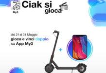 """Wind Tre Italia con """"Ciak Si Gioca"""" sull'App My3 mette in palio tanti premi Xiaomi"""