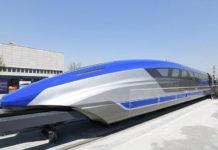 treno veloce levitazione magnetica
