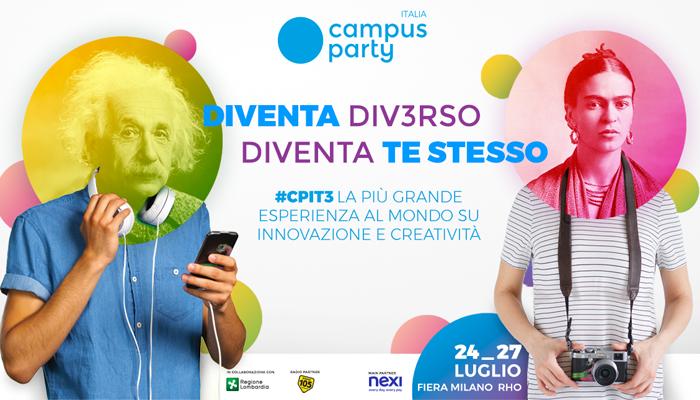 Campus Party, Diventa div3rso. Diventa te stesso