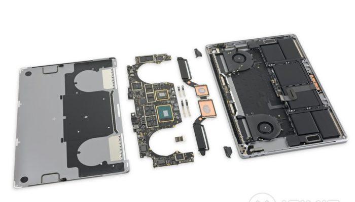 apple MacBook Pro 15 Touch Bar 2019 iFixit