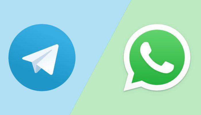 usare whatsapp e telegram senza numero