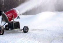 neve artificiale contro scioglimento ghiacci