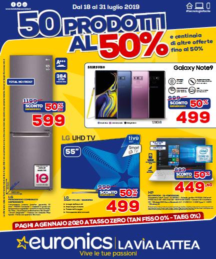 DaEuronics 50 prodotti al 50% e tante altre offerte