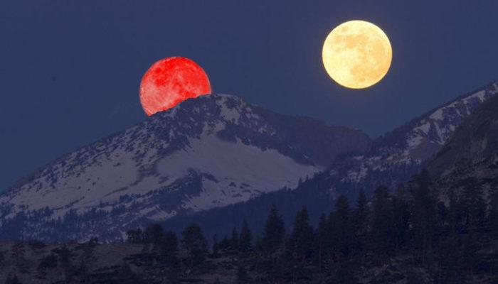 marte grande come luna