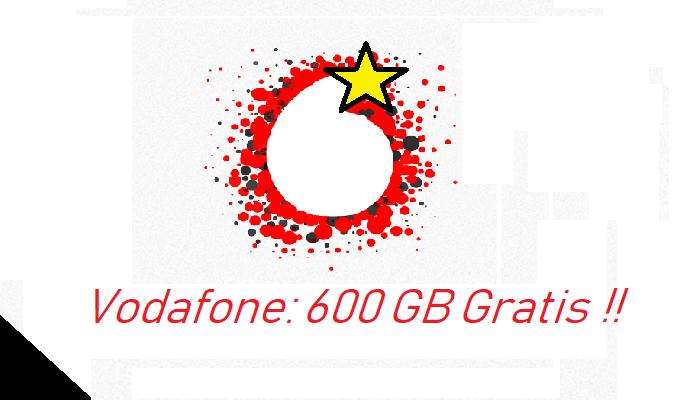 offerta Vodafone 600 Giga Gratis