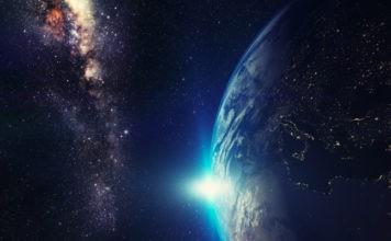 terra e via lattea velocità nello spazio