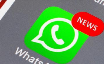 aggiornamento WhatsApp chat