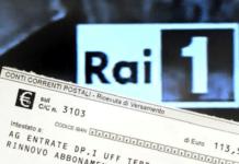 esenzione canone della RAI