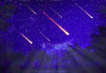 stelle cadenti orionidi cometa di halley