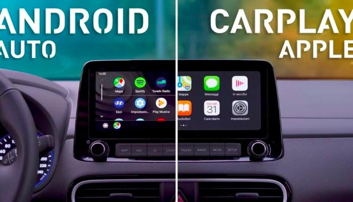 Android Auto sfida apple CarPlay