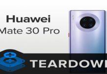 Huawei, Mate 30 Pro, iFixit, Teardown
