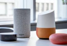 smart speaker amazon e google