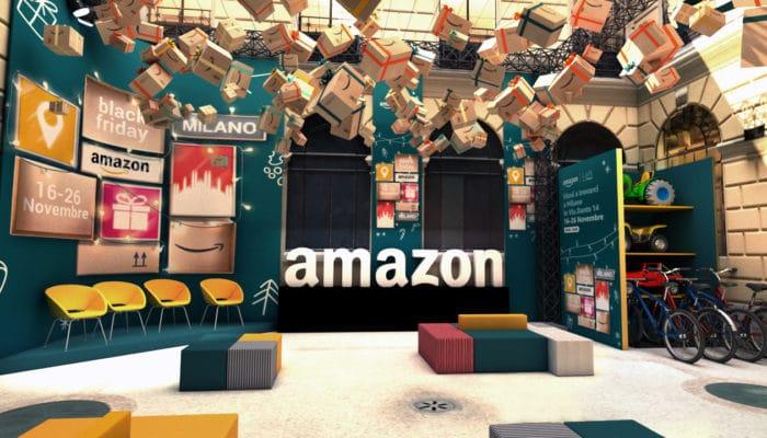 Amazon Temporary Store
