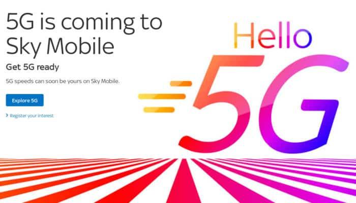 sky mobile al debutto