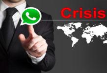 whatsapp crisis response