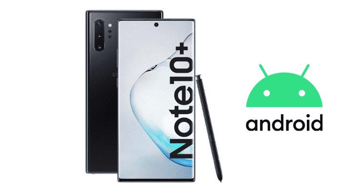 Android 10 arriva su Samsung Galaxy Note 10 in Italia!