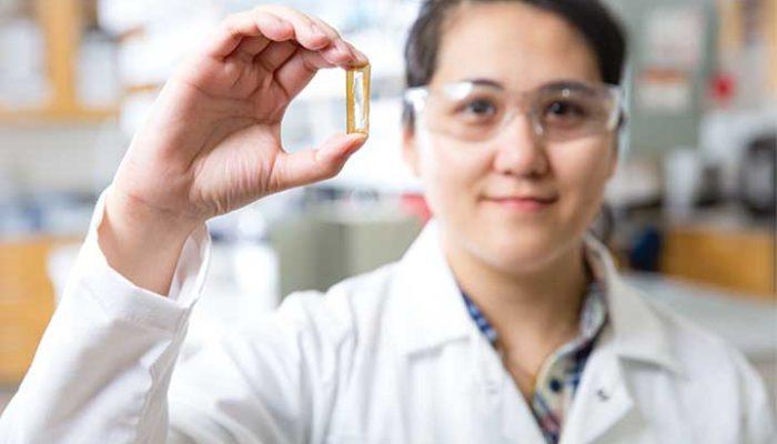 batterie nanofili d'oro
