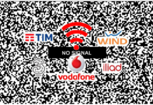down rete TIM Vodafone Wind Tre Iliad