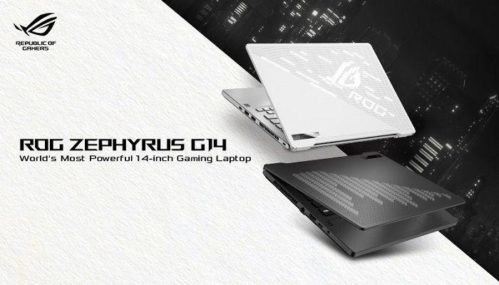 ASUS ROG Zephyrus G14, 8 core a bordo e prestazioni da gaming
